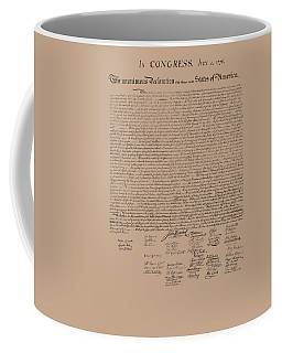 The Declaration Of Independence Coffee Mug