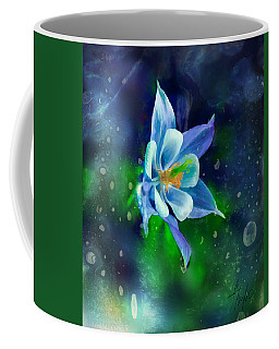The Deep Blue Coffee Mug by Colleen Taylor