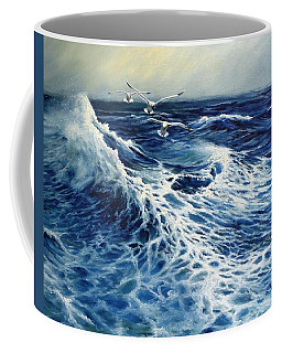 The Deep Blue Sea Coffee Mug by Eileen Patten Oliver