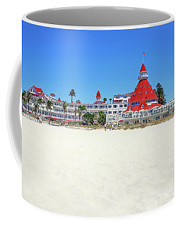 The Del Coronado Hotel San Diego California Coffee Mug