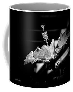The Delicate Hibiscus Flower Coffee Mug