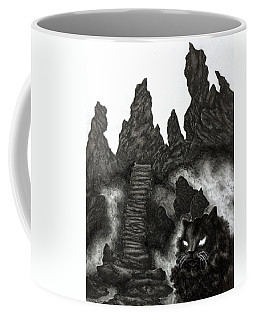 The Demon Cat Coffee Mug