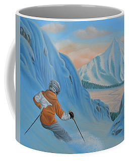 The Descent Beyond Coffee Mug