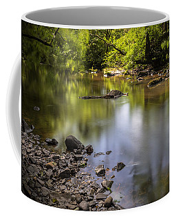 Coffee Mug featuring the photograph The Devon River by Jeremy Lavender Photography