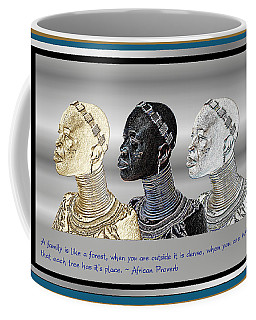 The Divine Sisters Coffee Mug by Jacqueline Lloyd