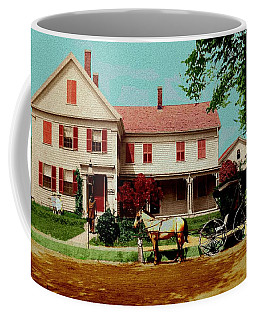 The Doctor Heads Out On A House Call Coffee Mug