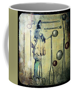 Coffee Mug featuring the digital art The Doctor Will See You Now by Delight Worthyn