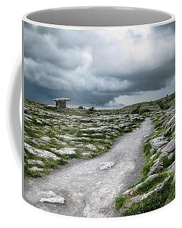 The Dolmen In The Burren Coffee Mug by Menega Sabidussi