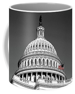 Coffee Mug featuring the photograph The Dome by John Schneider