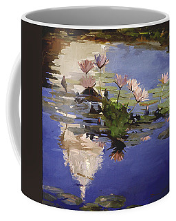 The Dome - Water Lilies Coffee Mug