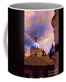 The Domes Of Immaculate Conception, Cuenca, Ecuador Coffee Mug