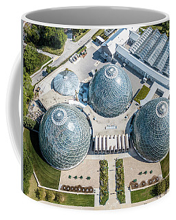 Coffee Mug featuring the photograph The Domes by Randy Scherkenbach