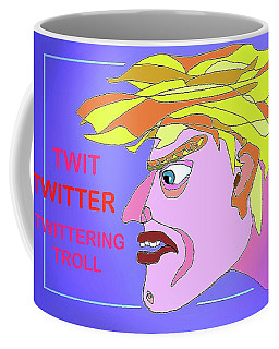 A Troll Named  Donald Coffee Mug by Hartmut Jager