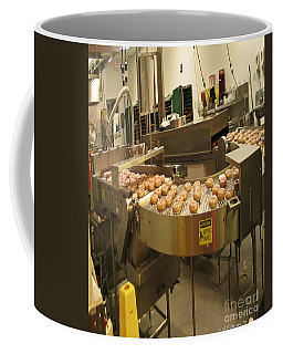 The Doughnut Machine Coffee Mug by Carol F Austin