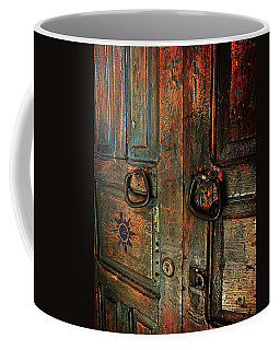The Door Of Many Colors Coffee Mug