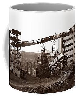The Dorrance Coal Breaker Wilkes Barre Pennsylvania 1983 Coffee Mug