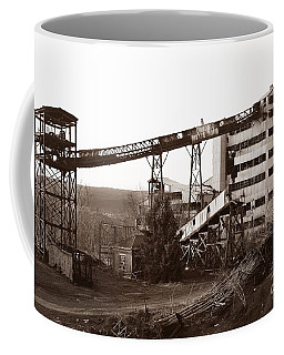 The Dorrance Coal Breaker Wilkes Barre Pennsylvania 1983 Coffee Mug