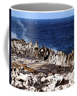 The Dragons Teeth II Coffee Mug by Patricia Griffin Brett