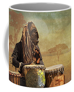 The Dream Of His Drums Coffee Mug