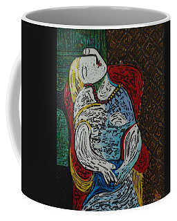 Coffee Mug featuring the painting The Dream Walker -le Reve Zombi  by Amelie Simmons