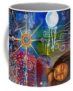 The Dreamer Coffee Mug by Prerna Poojara