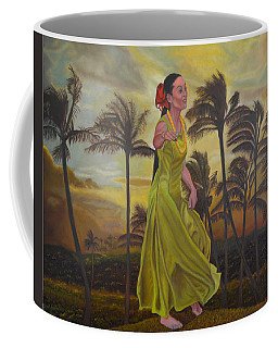 The Green Dress Coffee Mug