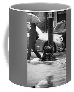 Coffee Mug featuring the photograph The Dry People by Empty Wall