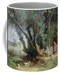 The Duck Pond Coffee Mug