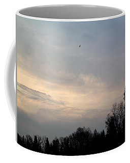 Coffee Mug featuring the photograph The Eagle Has Flown by Kent Lorentzen