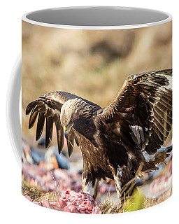 The Eagle Have Come Down Coffee Mug by Torbjorn Swenelius