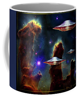 The  Eagle  Nebula  Coffee Mug by Hartmut Jager