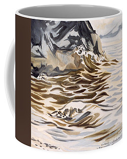The Eagles Nest At Gower Point Coffee Mug