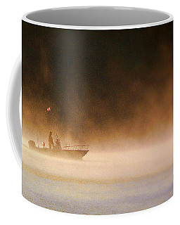 Coffee Mug featuring the photograph The Early Bird Get's The Fish by Patricia L Davidson