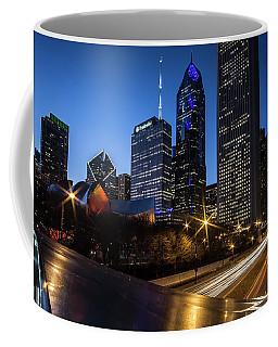 The East Side Skyline Of Chicago  Coffee Mug