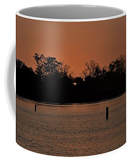 Coffee Mug featuring the photograph The Edge Of Night by John Glass