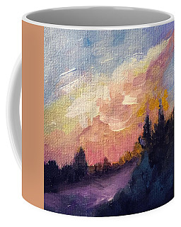 The Edge Of Spring Landscape Coffee Mug