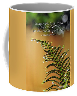 Coffee Mug featuring the photograph The Edges Of Time by Peggy Hughes