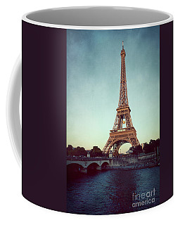 Coffee Mug featuring the photograph The Eifeltower by Hannes Cmarits