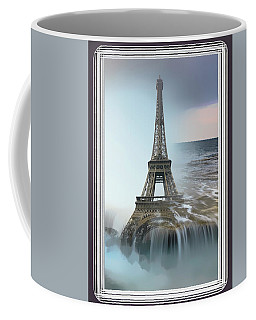 The Eiffel Tower In Montage Coffee Mug