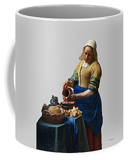 The Elegance Of The Kitchen Maid Coffee Mug