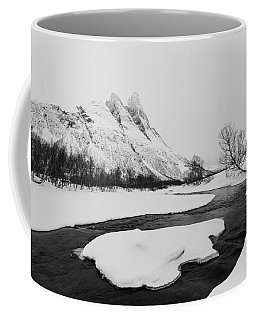 Coffee Mug featuring the photograph The Elements Of Winter by Alex Lapidus