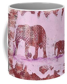 The Elephant March Coffee Mug