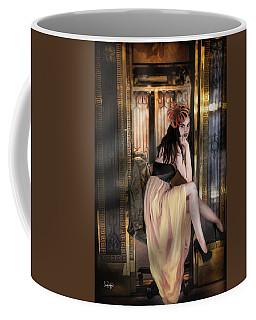The Elevator Girl Coffee Mug