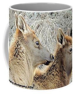The Elk Of Winter  Coffee Mug