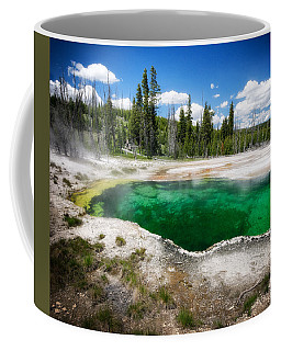 The Emerald Eye Coffee Mug