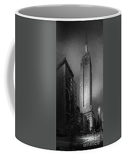 Coffee Mug featuring the photograph The Empire State Ch by Marvin Spates
