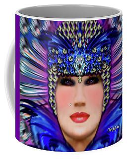 Coffee Mug featuring the photograph The Empress Barbaka #192 by Barbara Tristan