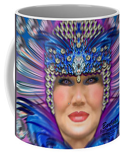 Coffee Mug featuring the photograph The Empress by Barbara Tristan