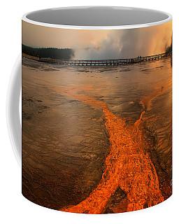 The Enchantment Of Grand Prismatic Spring Coffee Mug