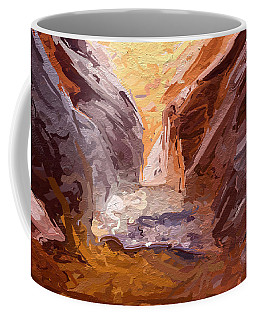 The Encroaching Ocean Coffee Mug
